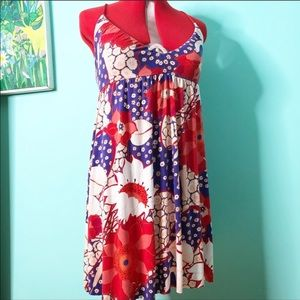 Free people floral dress LARGE GUC